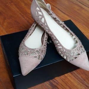 Athena Alexander textile shoes s 9.5